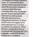 Corriere Adriatico Martedì  9 Ottobre 2018